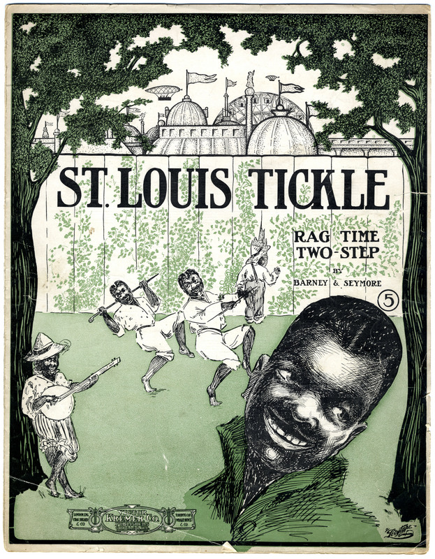 St. Louis tickle : rag time two-step / by Barney & Seymore.