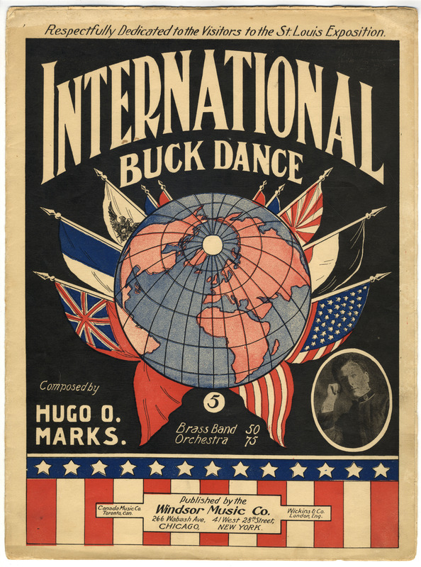International buck dance : march and two-step / Hugo O. Marks.
