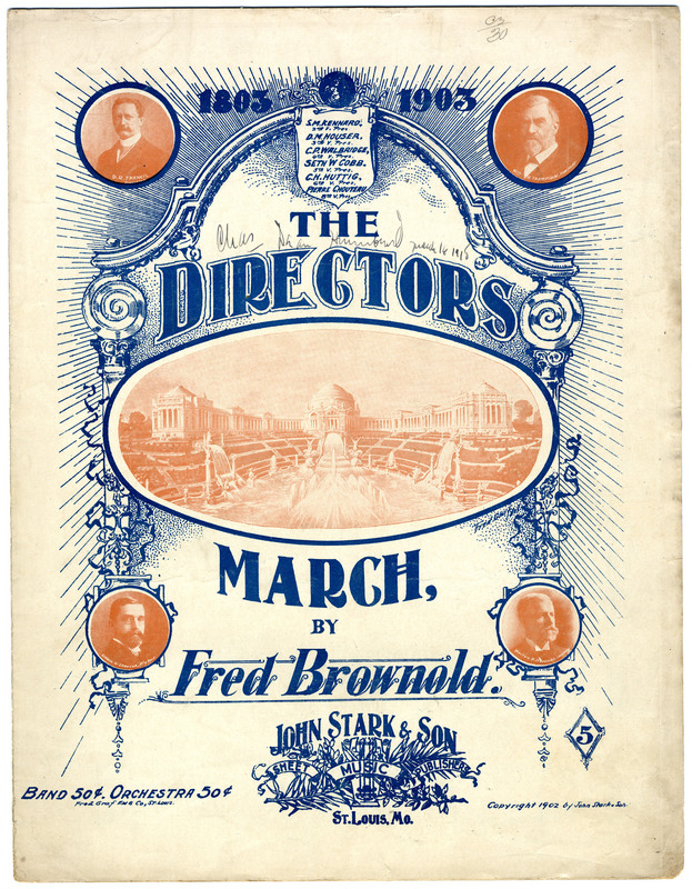 The directors march / by Fred Brownold.