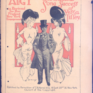 Algy : the famous song success of Vesta Tiffey : as revived for her present New York engagement