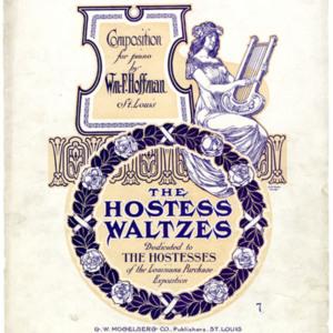 The hostess waltzes / Wm. F. Hoffman.