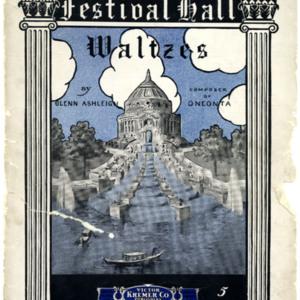 Festival Hall : waltzes / by Glenn Ashleigh.